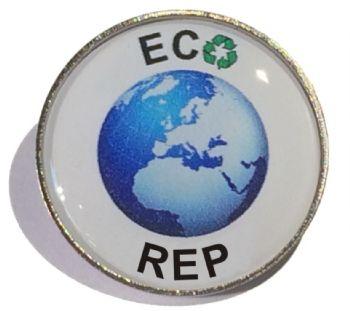 ECO REP round badge